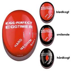 Æggeur der lægges i gryden sammen med æggene. Egg Perfect.