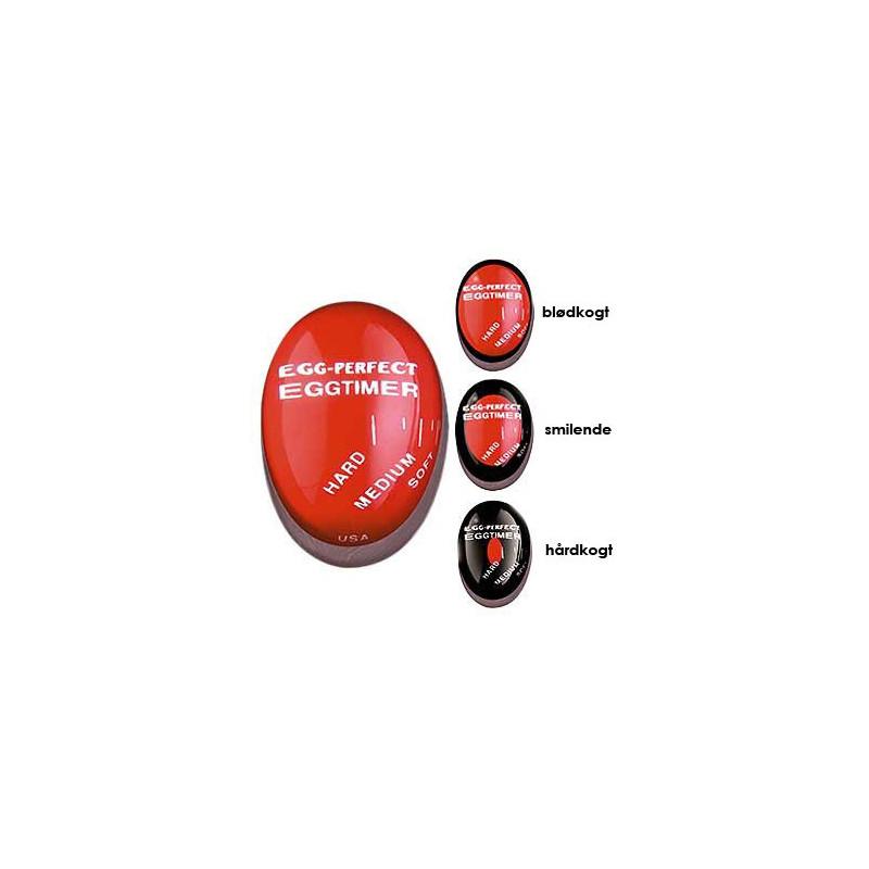 Æggeur der lægges i gryden sammen med æggene.