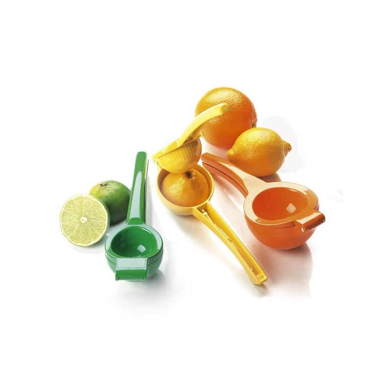 Citronpresser, appelsinpresser og limepresser.