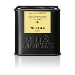 Mill og Mortar økologisk stødt ingefær.