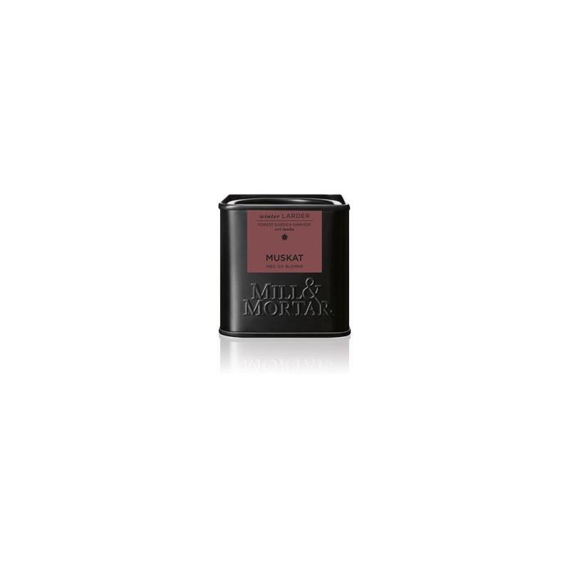 Mill og Mortar økologisk muskatnød.