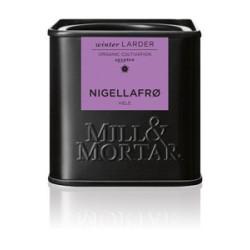 Mill og Mortar økologiske nigellafrø.