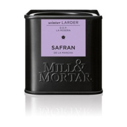 Mill og Mortar safran.