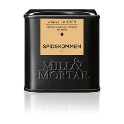 Mill og Mortar økologisk spidskommen.