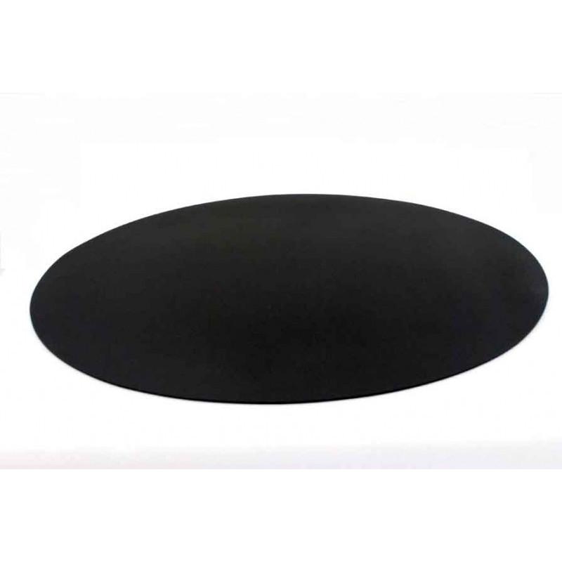 SEJ Design dækkeservietter i sort gummi.
