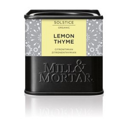 Mill og Mortar Citron timian.