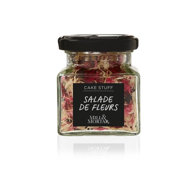 Mill og Mortar Salade de Fleurs - blomsterpynt til kager.
