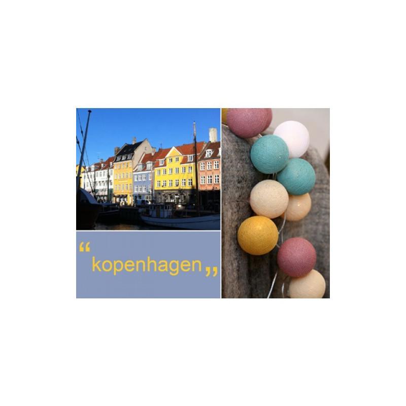 Happy Lights lyskæde med bolde. Copenhagen.