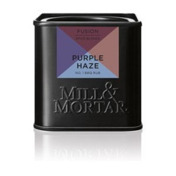 Mill og Mortar Purple Haze BBQ grillkrydderi.