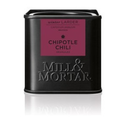 Mill og Mortar røget Chipotle chili flager.