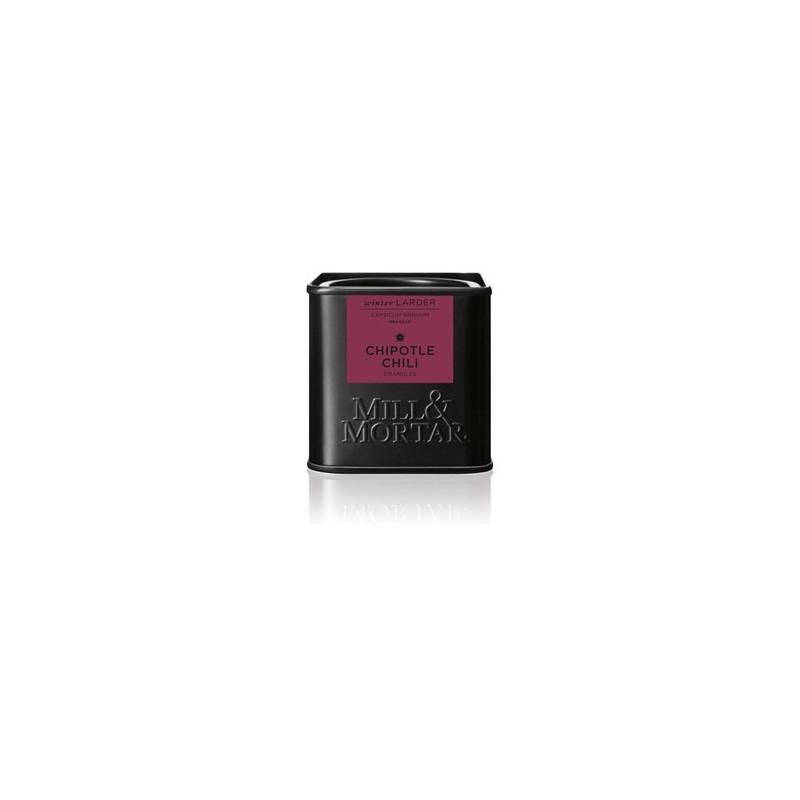 Mill og Mortar røget Chipotle chili flager.