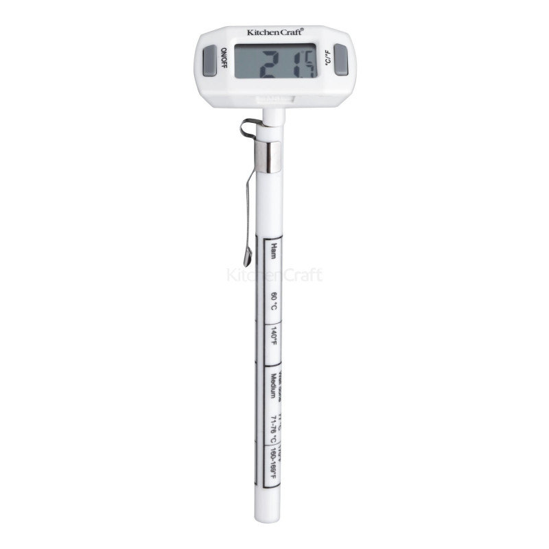 Digitalt bolchetermometer / sukkertermometer.