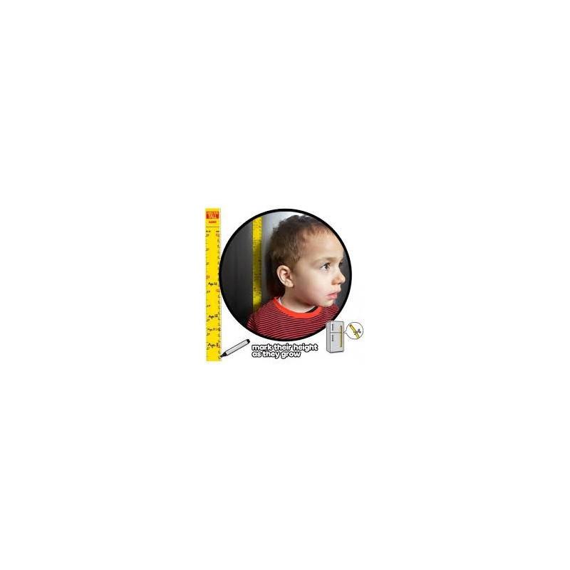 Målebånd til at måle børnene med.