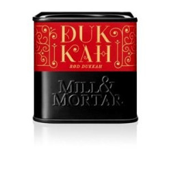 Dukkah rød økologisk fra Mill og Mortar.