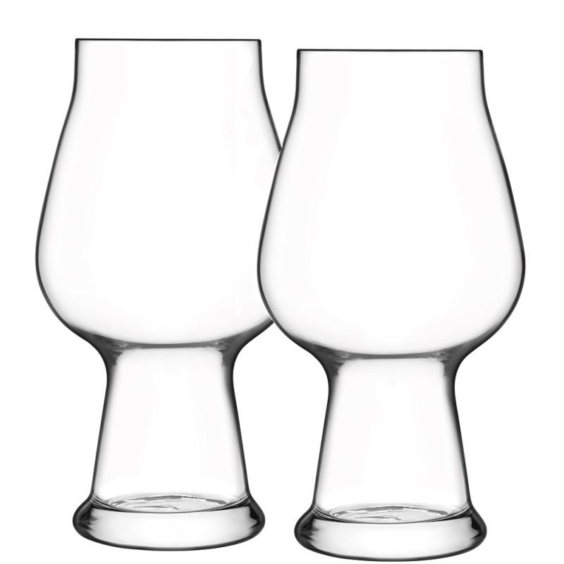 Luigi Bormioli Birateque stout/porter ølglas på TILBUD.