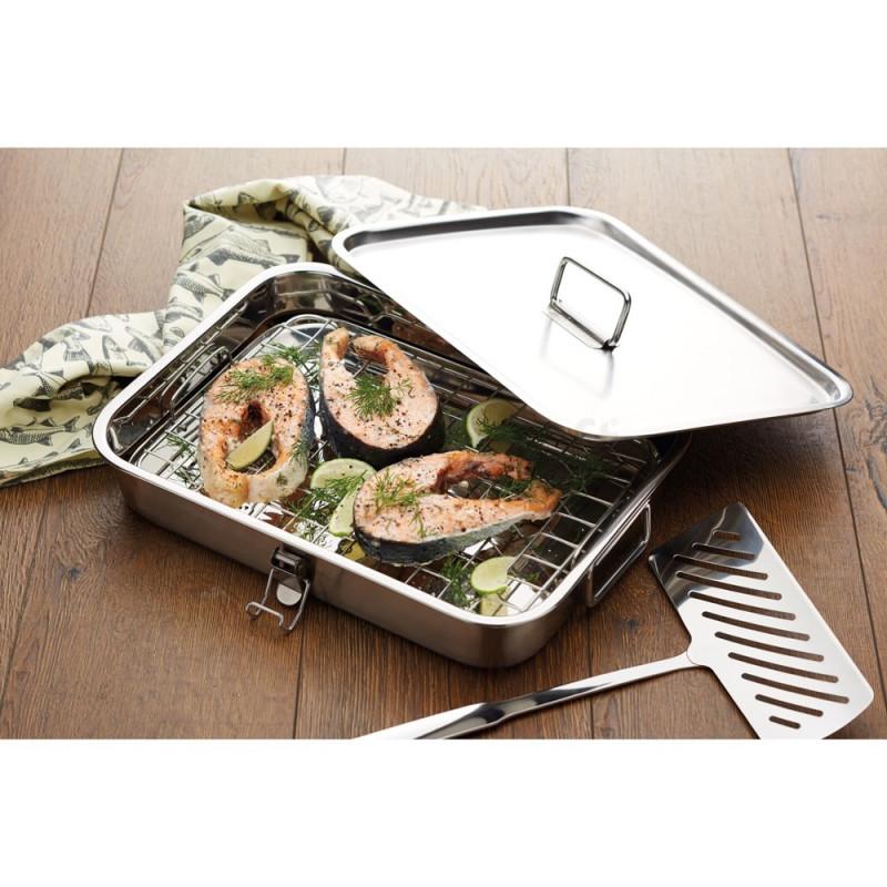 Rygeboks til ovn eller grill.