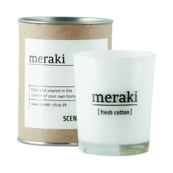 Meraki duftlys. Fresh Cotton.