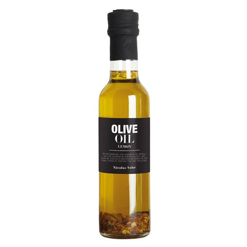Nicolas Vahé delikatesser. Olivenolie med lemon.
