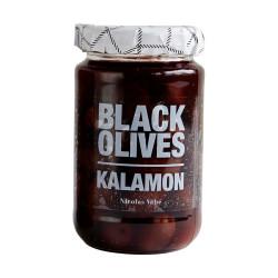 Nicolas Vahé delikatesser. Sorte oliven Kalamon.