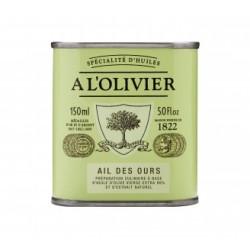 A L'Olivier olivenolie med ramsløg.