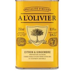 A L'Olivier olivenolie med citron og ingefær,