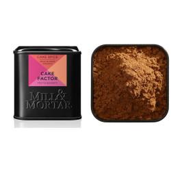 Mill og Mortar cake factor. Økologisk.