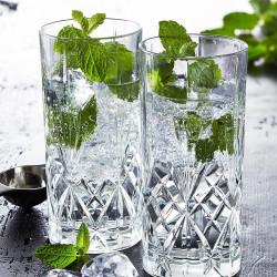 Drinksglas fra Lyngby glas.