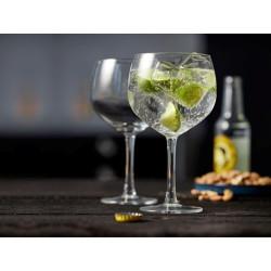 Gin og Tonic glas fra Lyngby glas.