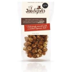 Joe & Seph's popcorn med espresso og karamel.