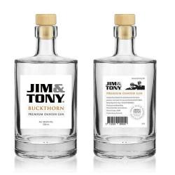 Jim og Tony Gin Buckthorn.