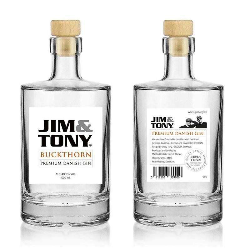 Jim og Tony Gin Buckthorn.