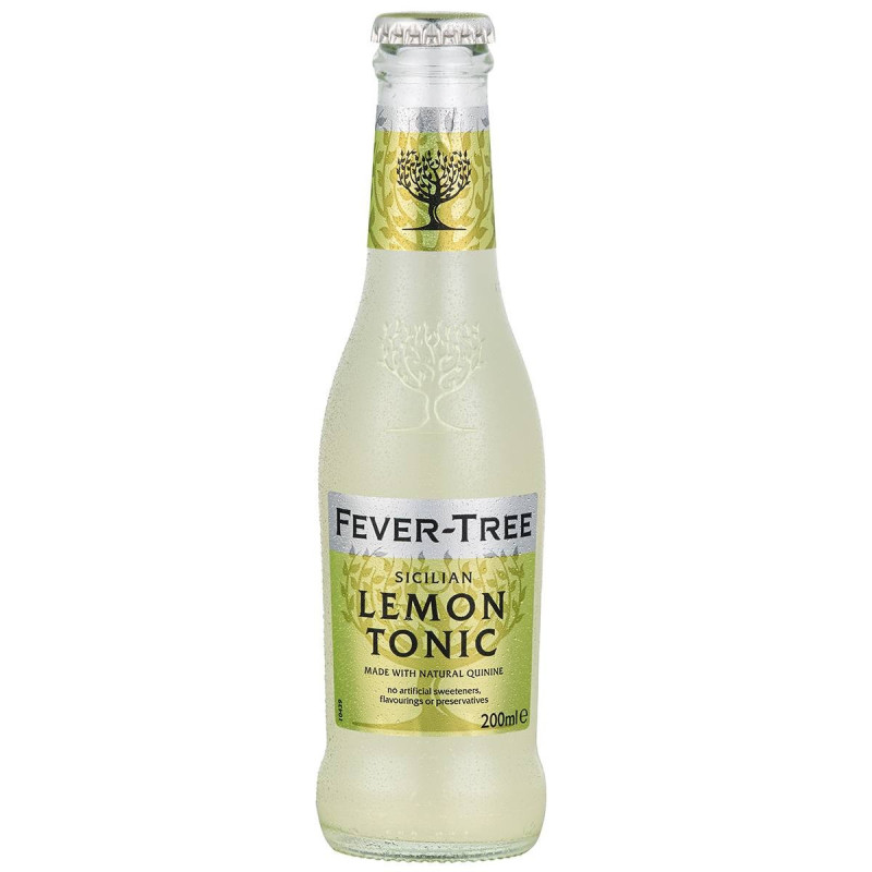 Fever Tree Sicilian lemon Tonic.