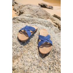 Shangies sandaler. Blå.