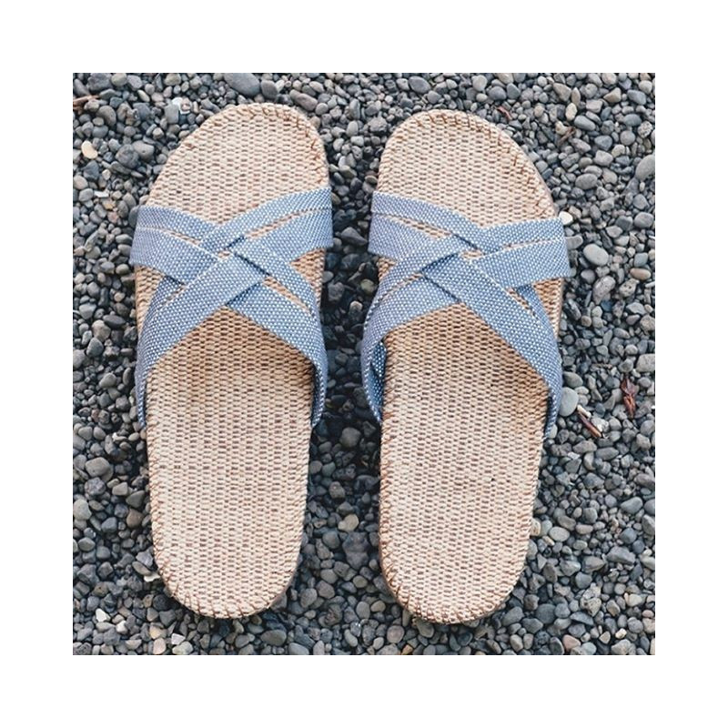 Shangies sandaler. Lyseblå.