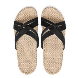 Shangies sandaler. Sort.