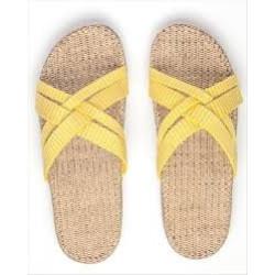 Shangies sandaler. Gul.
