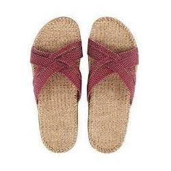 Shangies sandaler. Bourdeaux.