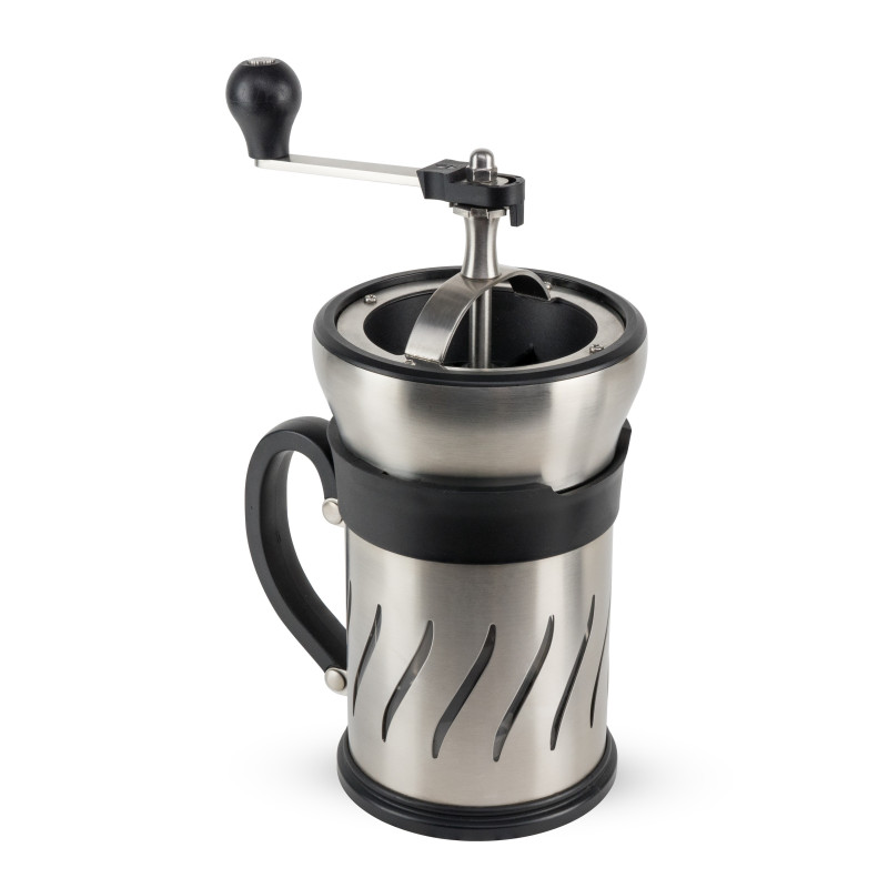 Peugeot stempelkande med kaffekværn.