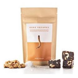 Dare Squares insekt snacks