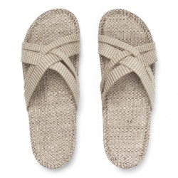Shangies sandaler. Beige.