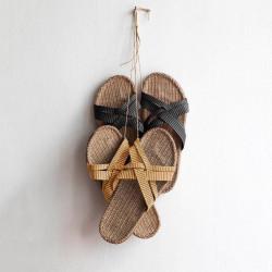 Shangies sandaler. Charcooal.