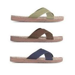Shangies sandaler til mænd. Oliven. Unisex model.
