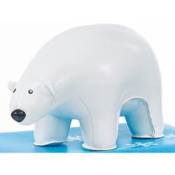 Züny isbjørn i skind.