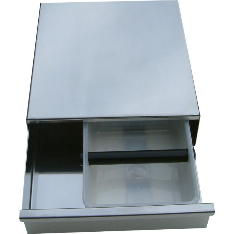 Knock-Box - udslagsboks og skuffe til espressomaskinen.