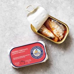 Grøndals sardiner i krydret tomat.