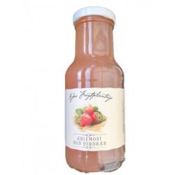Nybro æblejuice med jordbær.