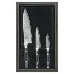 Yaxell japansk kniv. Sæt med 3 knive.