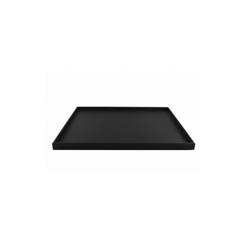 SEJ Design serveringsbakke i sort gummi.