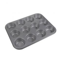 Muffinsform i stål.